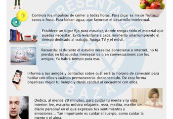 Consejos del Colegio de la Presentación Baza para estudiar en casa