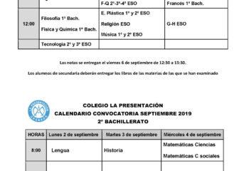 Examenes sep 2019