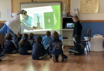 Colegio-La-Presentacion-Exposiciones-Orales-en-Infantil-5-anos-Proyecto-sobre-el-mundo